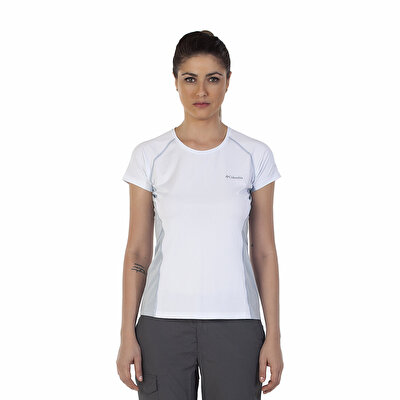 Columbia FREEZE DEGREE III KISA KOLLU KADIN  T-SHIRT - AL6580100