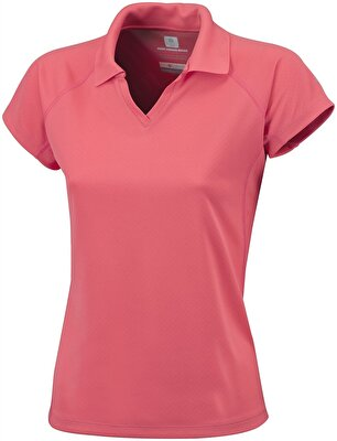 Columbia COOL NEWS KISA KOLLU KADIN POLO T-SHIRT - AL6817810