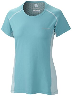 Columbia FREEZE DEGREE III KISA KOLLU KADIN  T-SHIRT - AL6580732