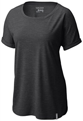 Columbia CRYSTAL POINT KISA KOLLU KADIN T-SHIRT - AK1956010