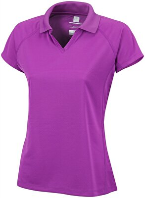 Columbia COOL NEWS KISA KOLLU KADIN POLO T-SHIRT - AL6817581
