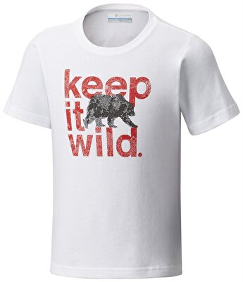 Columbia OUTDOOR ELEMENTS™ KISA KOLLU ÇOCUK T-SHIRT - AB0026100